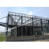 Quality PV Glass Curtain Wall Surface Industrial Steel Buildings Lightproof And Heat for sale