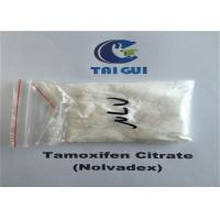 Tamoxifen Citrate / Nolvadex Crystalline Raw Steroid Powders Semi - Finshed Injection 20mg/ml
