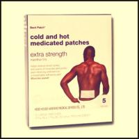 cold & hot medicated patch for men and lady Manufactures