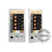 43 Inch Dual Screen Floorstanding Self Service Kiosk Android 5.1 POS Terminal with Printer Manufactures