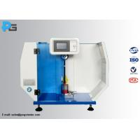 Micro Printer Impact Testing Machine , ISO180 Izod Impact Strength Test For Plastic Manufactures