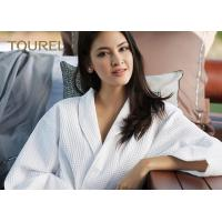 China Fully Stocked Velour Fancy Fluffy Luxury Cotton Bathrobes For Women on sale