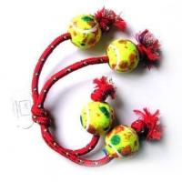 Rope Tug Rings With Balls (9867) Manufactures