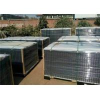 ECO friendly galvanized or pvc coated steel welded wire mesh fence panels with different colors