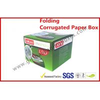 Foldable Corrugated Paper Box Flue Matt Lamination For Led Light