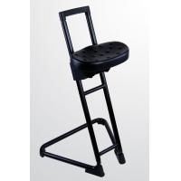 Lab Standing Chairs Cold Rolled Steel Material Novel Structure Simple PU Foam Seat Manufactures