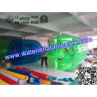 Exciting Green Huge Inflatable Walk On Water Ball , Person Inside Ball Manufactures
