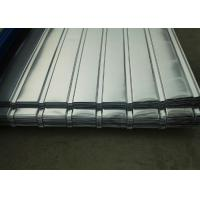 Corrugated Galvanized Steel Sheets , Corrugated Roofing Sheets For Construction Roof Manufactures