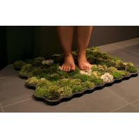 China maple leaves bath mat on sale