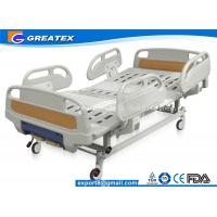 GT-BM5207 Two Crank Medical Manual Hospital Bed Foldable ABS Handrails 2 Functions Manufactures