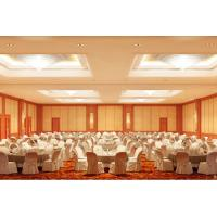Top Hung Fire rated Operable Movable Wooden Partition Wall Modern Office Furniture For Restaurant Manufactures