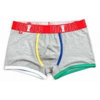 Fashion High Rise Boxer Briefs , High Stretch Mens Cotton Boxer Shorts Manufactures