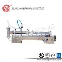 Stainless Steel Single air cylinder Head Liquid Filling Equipment For Honey / E Liquid Filler Manufactures