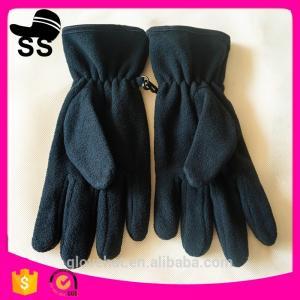2017 New Style Winter Cheap Warm Elegent Sports Women Polar Fleece Gloves 11.5*20cm 100% polyester 57g Manufactures