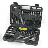 Durable 110pcs HSS Twist Drill Bit Sets for Drilling Metal and Wood and Concrete Manufactures