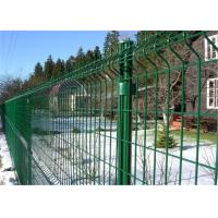 PVC Powder Coated Galvanized Metal Welded Wire Mesh Fence Manufactures