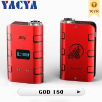 5W - 180W God 180 Mod Electronic Cigarette 510 Variable Wattage God 180 mod Manufactures