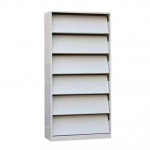 Cold rolled Steel 1.5mm 380MM Magazine Display Shelf Manufactures