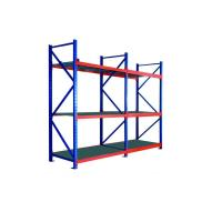 Smooth Surface Warehouse Shelving Rack High Density Metal Pallet Racking Manufactures