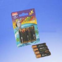 4-Piece Batteries in Blister Card (LR03/LR6) Manufactures
