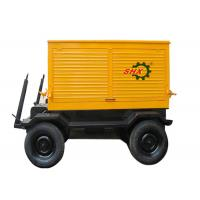 Three Phase 150KW188KVA Mobile Generator Set Portable Turbo Charged Manufactures