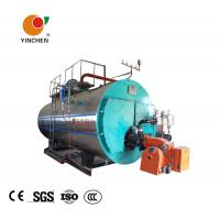 Low Pressure Steam Boiler 0.3-20 Tons / Horizontal Three Pass Fire Tube Boiler Manufactures