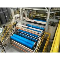A.L-Nonwoven Double Beam PP Spunbond Nonwoven Fabric Production Line / Nonwoven fabric making machine Manufactures