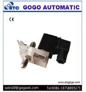Screw / Welding Type Electric Air Valve Solenoid 2/2 Normal Close 0 - 4bar Working Pressure