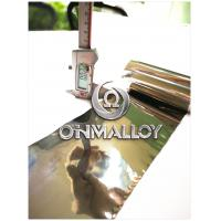 0.02mm*1J79 Soft Magnetic Alloy,Super Permalloy,free sample ,fast delivery,magnetic shielding Manufactures