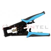 F / BNC / RCA Telecom Hand Tools Wire Connector Crimping Tool For Coaxial Cable Connector Manufactures