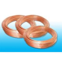 Low Carbon Steel Strip Refrigeration Copper Tube 4.76 * 0.7 mm Manufactures