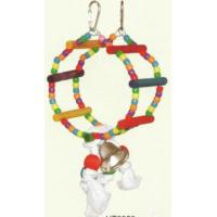 Quality Parrot Plastic Toy With Bell for sale