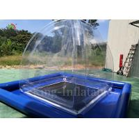 Transparent Airtight Inflatable Camping Bubble Tent 2.4mL*2.4mW*2.5m H Manufactures