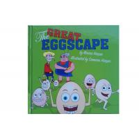 Coated Matt Art Paper Kids Book Printing , Picture Book Printing For The Great Eggscape Manufactures
