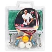 Table Tennis Racket Set - with Net & Post (628-M) Manufactures