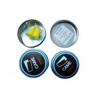 Cheap Sound Proof Ear Plugs Yellow Color , Swimming Ear Plugs Waterproof 2.4*1.3CM Size for sale