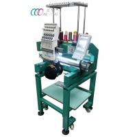 Multi-functional Single Head Cap / Shirt  Embroidery machine With Auto Trimmer Manufactures