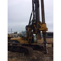 Cheap Hydraulic Rotary Pile Driving Rig For Bored Pile Foundation 43M Depth 1.3M Dia KR125C for sale