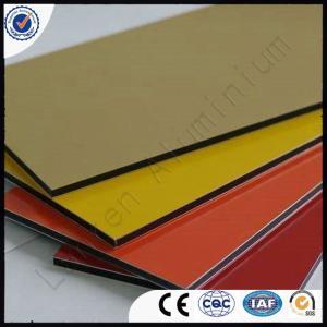 PVDF coated 3mm 4mm 2mm Aluminium Composite Panel (15 Years Guarantee) Manufactures