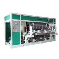 Quality Waste Paper Egg Tray / Egg Carton / Fruit Tray Production line 6000Pcs / Hour for sale