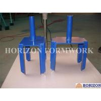 Q235 Steel Scaffolding Fork Head Painting / Galvanized Finishing Manufactures