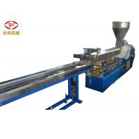 Color Masterbatch Making Pellet Twin Screw Extruder Machine Water Strand Cutting Manufactures