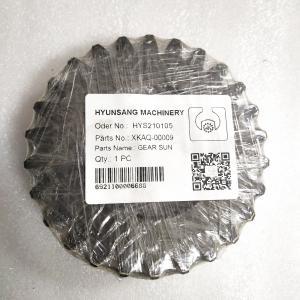 Swing Reduction Gear Gear-1 Sun XKAQ-00009 XKAQ-00392 XKAQ-00195 For Hyundai R320LC7 Manufactures