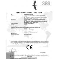 Ningbo Changqi Bathroom Hardware Industry Co., Ltd. Certifications