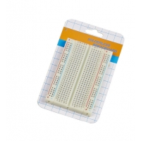 400 Tie - Points Prototyping Breadboard , Small Simple Electronics Projects On Breadboard Manufactures
