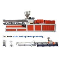 PP ABS Double Screw Extruder Making Machine Water Strand Pelletizing Line Manufactures