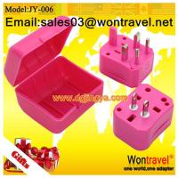 Cheap Sell JY-006 International travel adapter for sale