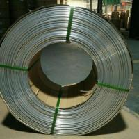 Heat Exchange Aluminum Coil Tubing / Conform Thin Wall Extruded Aluminum Tubing Manufactures