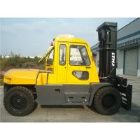 Diesel Powered Forklift 12 Ton , Container Mast Forklift  With Fork Positioner Manufactures