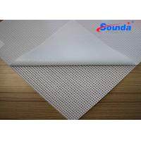 Eco Solvent Ink Double Printing Polyester Mesh Fabric for Indoor Advertising Display Manufactures